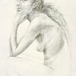 Figure drawing, 1989