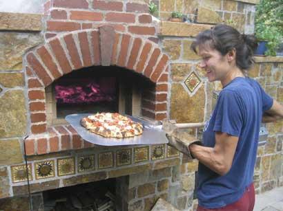 Traditional Brick Oven - Tania Dibbs